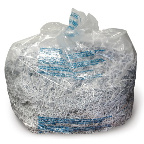 Swingline Poly Shredder Bags,Medium Up To 8 Gallon,100/Box,C
