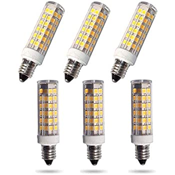 Chener Dimmable E11 Mini Candelabra 6w Led Bulbs 3000k