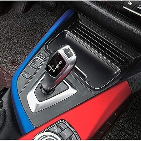 Hdcf Für 3 4er 3gt F30 F31 F32 F34 F36 316li 320li Autozubehör Schaltpaneel Dekorleiste Blende Blau Auto