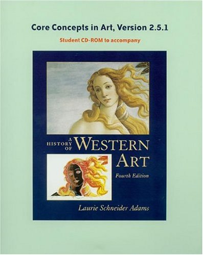 History of Western Art's Core Concepts CD-ROM, V 2.5