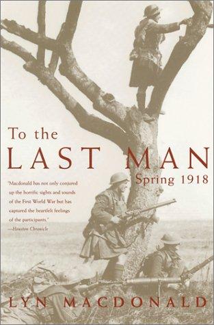 To the Last Man: Spring 1918 PDF