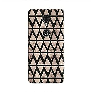 Cover It Up - Stone Triangles Black Gionee A1 Hard case