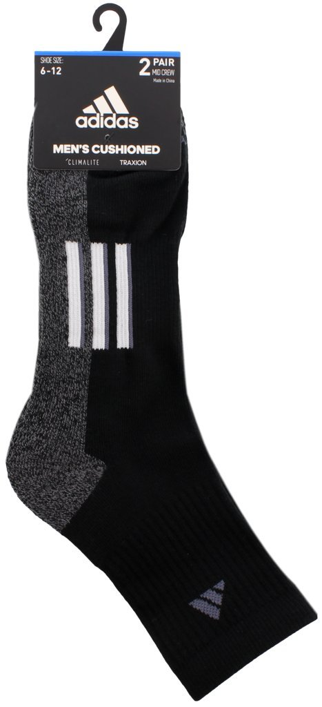 check out 59f96 51e05 Amazon.com adidas Mens Climalite X Ii Mid-Crew Socks (2 Pack) Sports   Outdoors