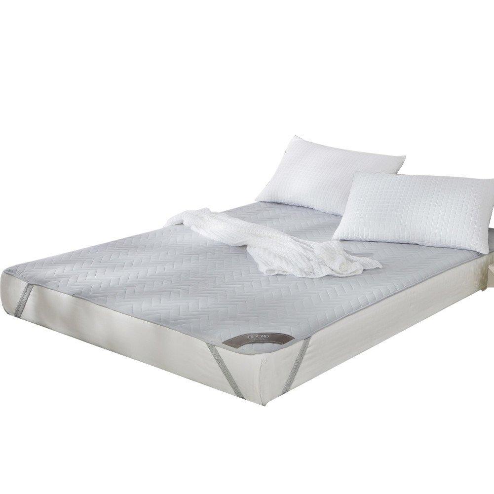 Textile mattress mattress mattress anti-skidding protector tatami mats double -A Queen1