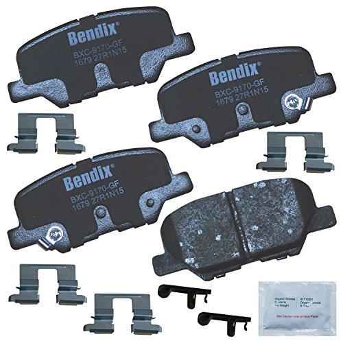 Discount Bendix Premium Copper Free CFC1679 Ceramic Brake Pad (with Installation Hardware Rear) free shipping