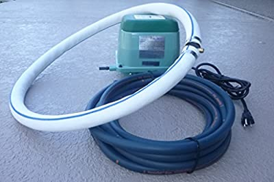 """Best Cheap Deal for Aquaponics / Hydroponics / Koi Pond / Water Gardens Applications -- Bubblemac """"Ring-Of-Bubbles"""" Complete High-Performance Air Diffuser System w/ Weighted Tubing; -model# RB40- by Bubblemac Industries, Inc - Free 2 Day Shipping Availabl"""