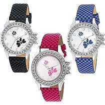 Swadesi Stuff Multi color analog watch for Women & Girls Com