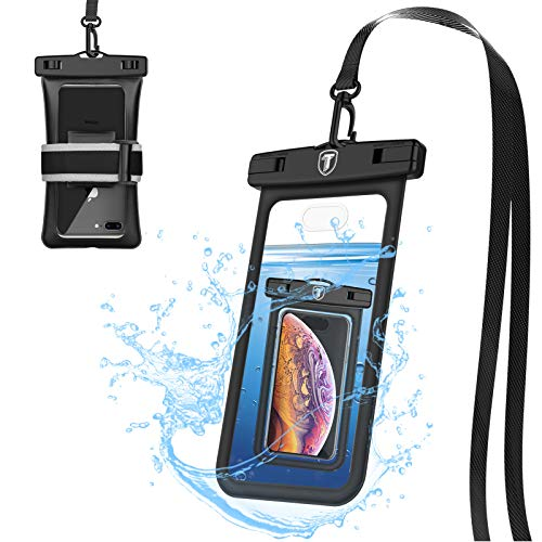 Tiflook Floating Waterproof Phone Pouch,2019 Waterproof Cell Phone Case Underwater Dry Bag Pouch Fit for iPhone Xs MAX/XS/XR/SE/8 Plus/8/7 Plus/7/6S Plus/6S/6 Plus/6/5S/5C/5,up to 6.5
