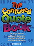Confused Quote Book, Gwen Foss, 0517185024