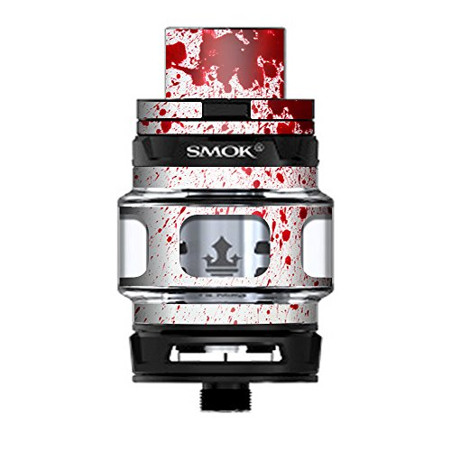 Skin Decal Vinyl Wrap for Smok TFV12 Prince Tank Vape Kit skins stickers cover/Blood Splatter Dexter