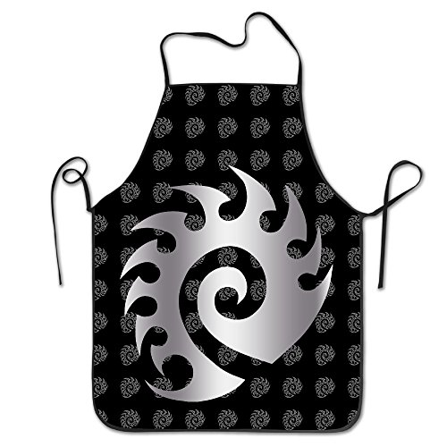 Starcraft Zerg Platinum Logo Kitchen Baking Apron