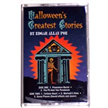 Halloween's Greatest Stories: Premature Burial / The Pit and the Pendulum / Telltale Heart / Warlock's Ride / Scary Places