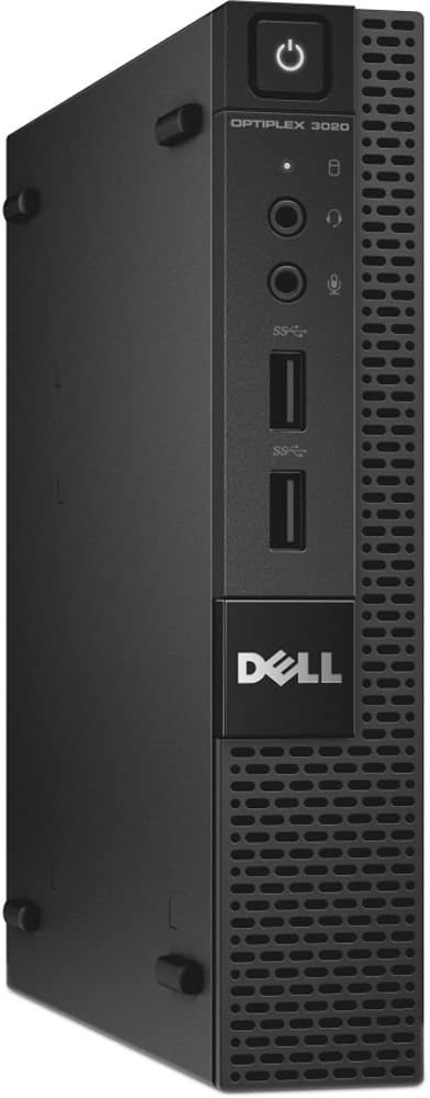 Dell OptiPlex 5050 Micro Form Factor (Intel Core i5-7600T, 16 GB DDR4, 256 GB SSD) Windows 10 Pro (Renewed)