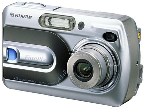 FujiFilm FinePix A330 3.2MP Digital Camera with 3x Optical - Pix Movie Camcorder