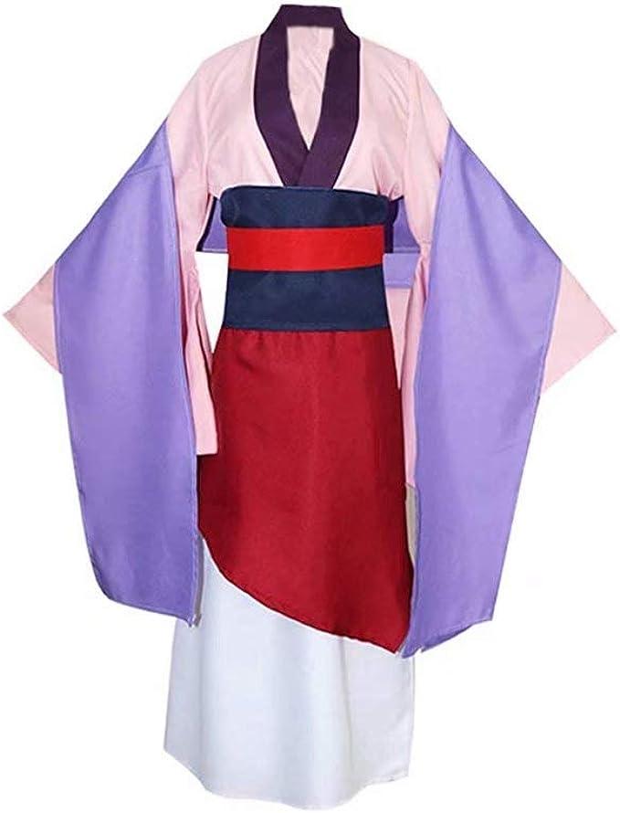 Disfraz de Heroína Hua Mulan Dress Hanfu Chino Antiguo Traje de ...