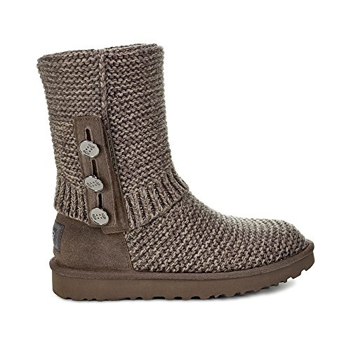 M Fashion Women's Cardy Boot UGG 8 W Knit Charcoal Purl US X7zyyUqZw