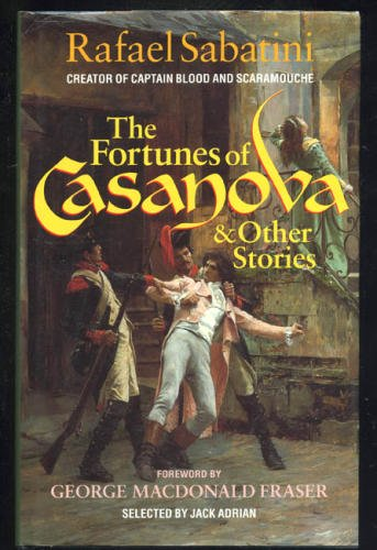 Book cover for The Fortunes of Casanova and Other Stories