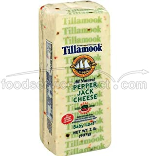 product image for Tillamook Pepper Jack Cheese, 2 Pound -- 6 per case.