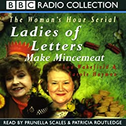 Ladies of Letters Make Mincemeat
