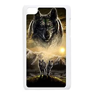 Wolves Popular Case for Ipod Touch 4, Hot Sale Wolves Case