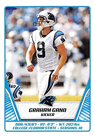 100% authentic 8e7bf 046ff Amazon.com: 2019 NFL Stickers Collection #446 Graham Gano ...
