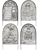 Fabric Tombstones Yard Stakes