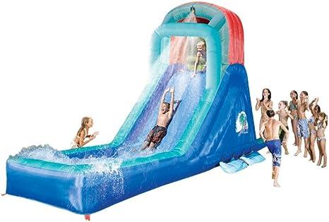 Amazon Com Banzai Falls Original Water Slide Toys Games