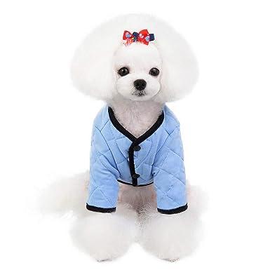Keepwin🍒 Ropa para Mascotas Disfraz Abrigo Chaqueta para ...