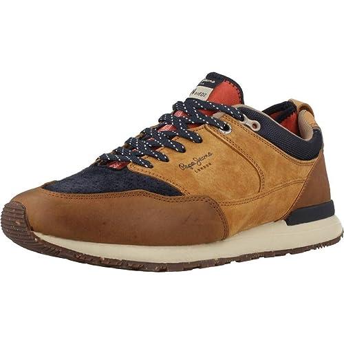 Calzado Deportivo para Hombre, Color marrón, Marca PEPE JEANS, Modelo Calzado Deportivo para Hombre PEPE JEANS PMS30473 Marrón: Amazon.es: Zapatos y ...
