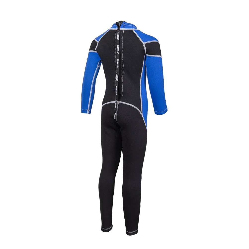 da32104704 Amazon.com  Eleoption Kids Wetsuit Full Body Sun Protection for Boys and  Girls 2.5mm Thick One Piece Full Body Swimsuit Long Sleeve Swimsuit  Sports    ...