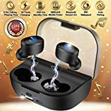 Wireless Earbuds with Charging Case,Bluetooth Earbuds with Mic for Running,Wireless Bluetooth Earphones