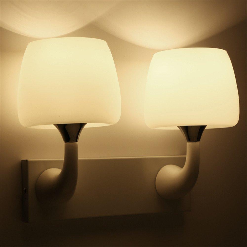 StiefelU LED Wandleuchte nach oben und unten Wandleuchten Außen-Wandleuchte wasserdicht Nachttischlampe Schlafzimmer Wohnzimmer mit Balkon, Terrasse, Treppen LED Wandleuchte