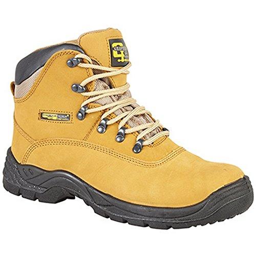 Grafters  Honey Hiker Safety Toe Cap Boot, Herren Sicherheitsschuhe
