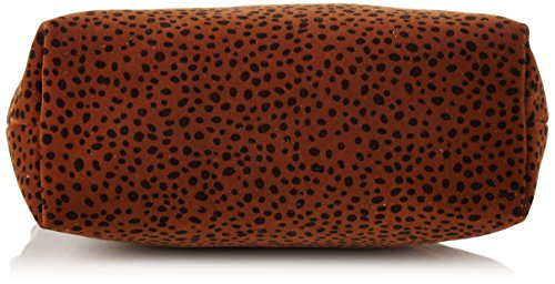 Bensimon New Pocket - Carteras de mano Mujer Marrón (Brown Spot)