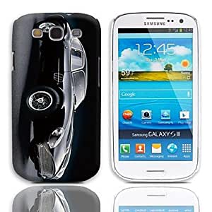 SOL Car Pattern Hard Case with 3-Pack Screen Protectors for Samsung Galaxy S3 I9300