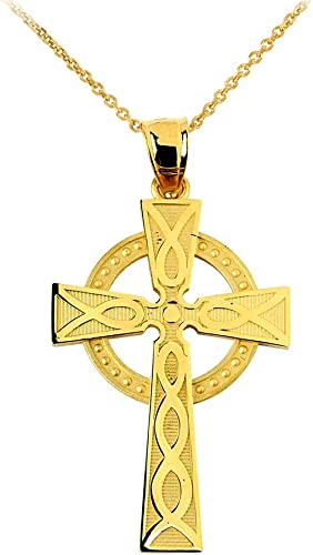 Rose Gold-plated 925 Silver 30mm Glory Cross Pendant Jewels Obsession Silver Cross Pendant