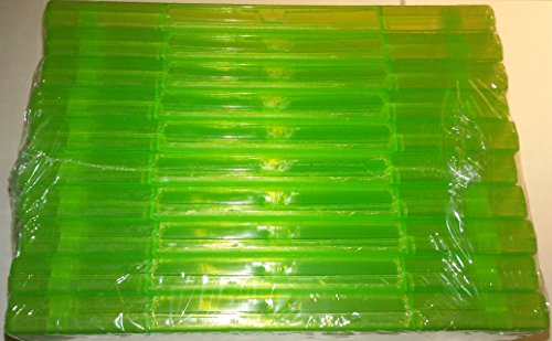 Photo - 10 Official Microsoft XBox 360 Green Replacement Game Cases OEM