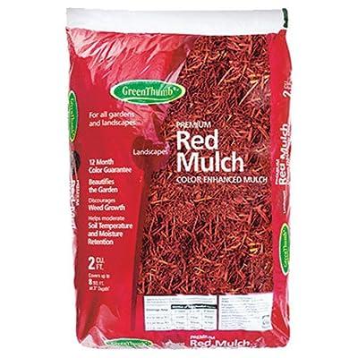 2 Cuft, Red Mulch, Premium Colored Mulch