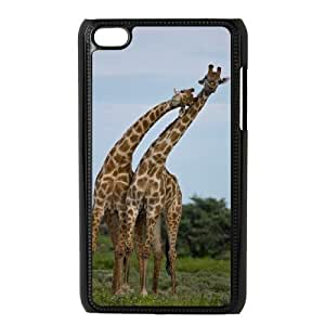 ANCASE Phone Case Giraffe,Customized Case For Ipod Touch 4