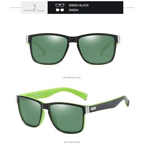 Yangjing-hl Gafas de Sol Hombres Gafas de Sol polarizadas ...