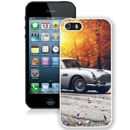 Coque,Fashion Coque iphone 5S Classic Old School Car Autumn Light blanc Screen Cover Case Cover Fashion and Hot Sale Design