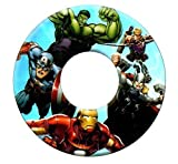 Marvel Avengers Kids Inflatable Swim Ring Swimming Pool Beach Float 3-6 Years