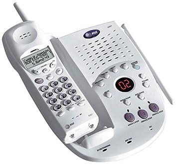 at t 9357 900 mhz analog cordless phone with digital amazon co uk rh amazon co uk