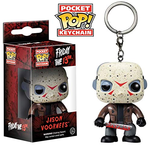 Jason Voorhees Chaveiro Keychain Mini Boneco Pop Funko