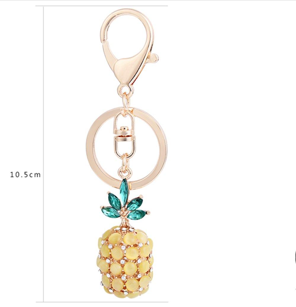 Amazon.com: Cristales kawaii Cute Fruit Piña Forma Coche ...