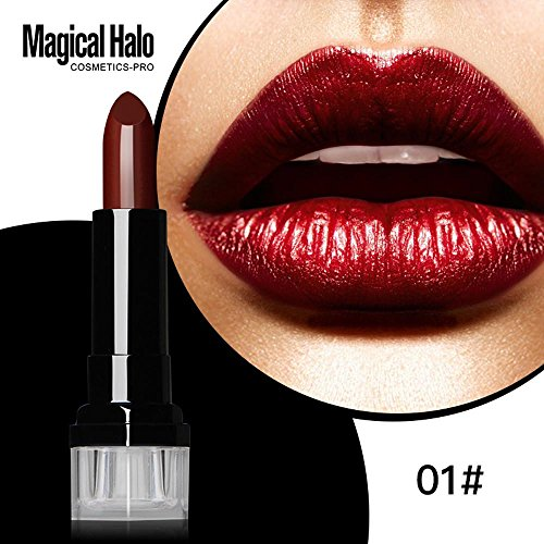 Lipstick Doinshop Waterproof Long Lasting Vampire Style 12 Colors Halloween Cosmetic Stick (A) ()