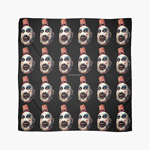 Captain Costume Clown Spaulding (House of 1000 Corpses Captain Spaulding Multi-Purpose Scarf, Shawl, Wrap, Table)