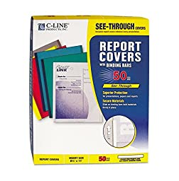 CLI32457 - Polypropylene Report Covers w/Binding Bars