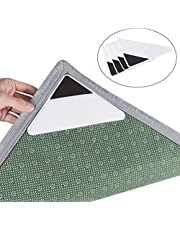 Rug Grippers - Latest Upgraded Carpet Anti-Skid Pad with Strong Sticky Anti Slip Straight Carpet Tape for Curled Corners & Edges