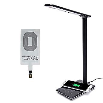 Tactile Dimmable Wireless 5500k Chevet Qi Bureau Table Lampe Smartphone Led Lumière De Moderne Joody Charger Avec 7vbfyY6g